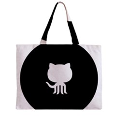 Logo Icon Github Zipper Mini Tote Bag by Celenk