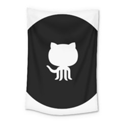 Logo Icon Github Small Tapestry by Celenk
