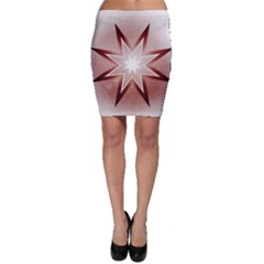 Star Christmas Festival Decoration Bodycon Skirt by Celenk