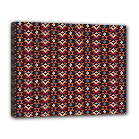 Native American Pattern 22 Canvas 14  X 11  by Cveti