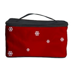 Christmas Pattern Cosmetic Storage Case by Valentinaart