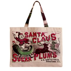 Vintage Santa Claus  Zipper Mini Tote Bag by Valentinaart
