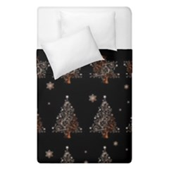 Christmas Tree   Pattern Duvet Cover Double Side (single Size) by Valentinaart