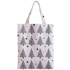 Christmas Tree   Pattern Zipper Classic Tote Bag by Valentinaart