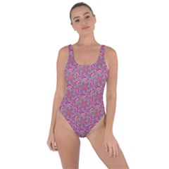 Whirligig Pattern Hand Drawing Pink 01 Bring Sexy Back Swimsuit by Cveti