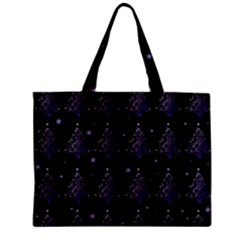 Christmas Tree   Pattern Zipper Mini Tote Bag by Valentinaart
