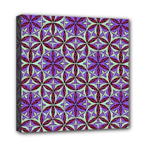 Flower Of Life Hand Drawing Pattern Mini Canvas 8  X 8  by Cveti