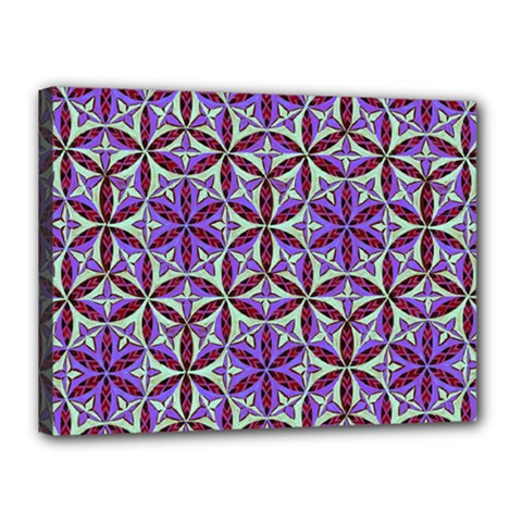 Flower Of Life Hand Drawing Pattern Canvas 16  X 12  by Cveti