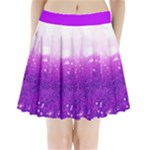 lavendar glitter pleated skirt - Pleated Mini Skirt
