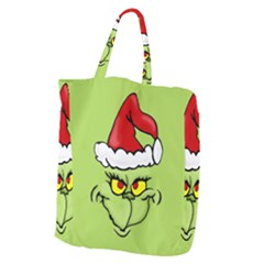 Grinch Giant Grocery Zipper Tote by Valentinaart