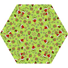 Grinch Pattern Mini Folding Umbrellas by Valentinaart