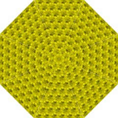 Hexagon Cube Bee Cell  Lemon Pattern Straight Umbrellas by Cveti