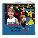 Our Magic Vacation - 8x8 photo book - 8x8 Photo Book (20 pages)
