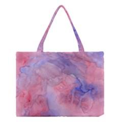 Mr  Hughes Blues Medium Tote Bag by SimpleBeeTree