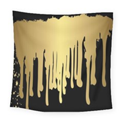 Drip Cold Square Tapestry (large) by 8fugoso