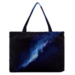 Nebula Zipper Medium Tote Bag