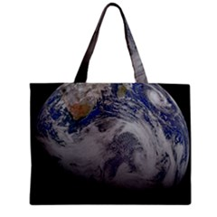 A Sky View Of Earth Zipper Mini Tote Bag
