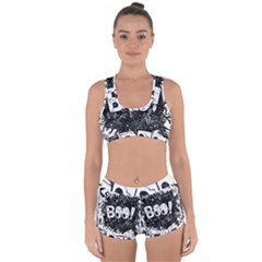 Monster Art Boo! Boo2 Racerback Boyleg Bikini Set