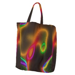 Vibrant Fantasy 4 Giant Grocery Zipper Tote by MoreColorsinLife