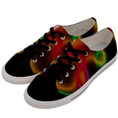 Vibrant Fantasy 4 Men s Low Top Canvas Sneakers by MoreColorsinLife