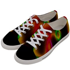 Vibrant Fantasy 4 Women s Low Top Canvas Sneakers by MoreColorsinLife