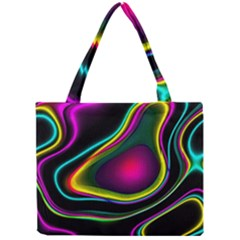 Vibrant Fantasy 5 Mini Tote Bag by MoreColorsinLife