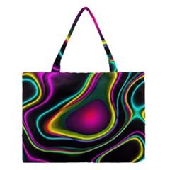 Vibrant Fantasy 5 Medium Tote Bag by MoreColorsinLife