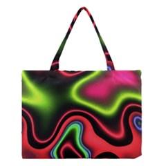 Vibrant Fantasy 1b Medium Tote Bag by MoreColorsinLife