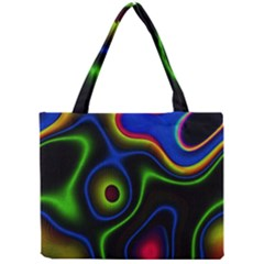 Vibrant Fantasy 6 Mini Tote Bag by MoreColorsinLife