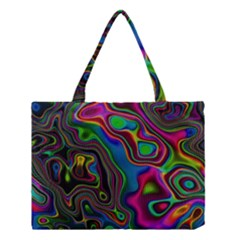 Vibrant Fantasy 6 Medium Tote Bag by MoreColorsinLife