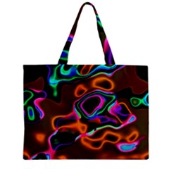 Vibrant Fantasy 8 Mini Tote Bag by MoreColorsinLife