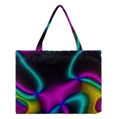 Vibrant Fantasy 3 Medium Tote Bag by MoreColorsinLife