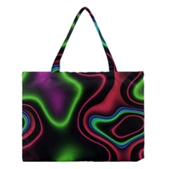 Vibrant Fantasy 2 Medium Tote Bag by MoreColorsinLife