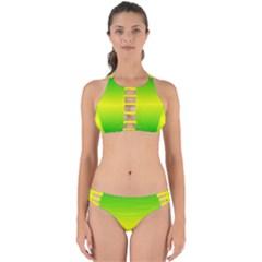 Pattern Perfectly Cut Out Bikini Set