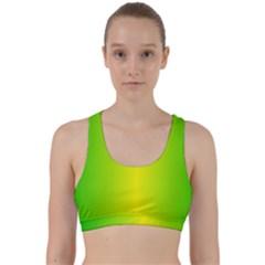 Pattern Back Weave Sports Bra by gasi