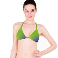 Pattern Bikini Top by gasi