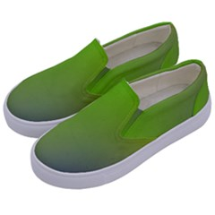 Pattern Kids  Canvas Slip Ons by gasi