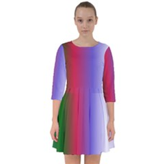 Pattern Smock Dress