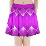 pink star pleated skirt - Pleated Mini Skirt