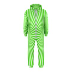Pattern Hooded Jumpsuit (kids) by gasi