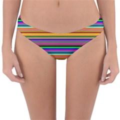 Pattern Reversible Hipster Bikini Bottoms by gasi