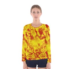 Pattern Women s Long Sleeve Tee by gasi