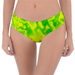 Pattern Reversible Classic Bikini Bottoms by gasi