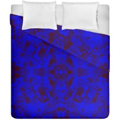 Pattern Duvet Cover Double Side (california King Size) by gasi