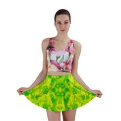 Pattern Mini Skirt by gasi