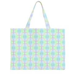 Pattern Zipper Large Tote Bag by gasi