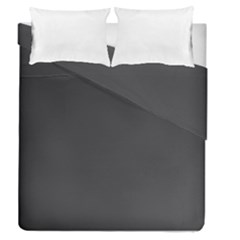 Black Carbon Fiber Duvet Cover Double Side (queen Size) by PodArtist