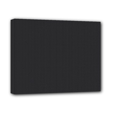 Simulated Black Carbon Fiber Steel Canvas 10  X 8  by PodArtist