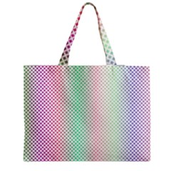 Pattern Zipper Medium Tote Bag by gasi