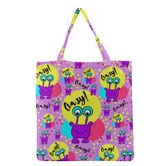 Crazy Grocery Tote Bag by gasi